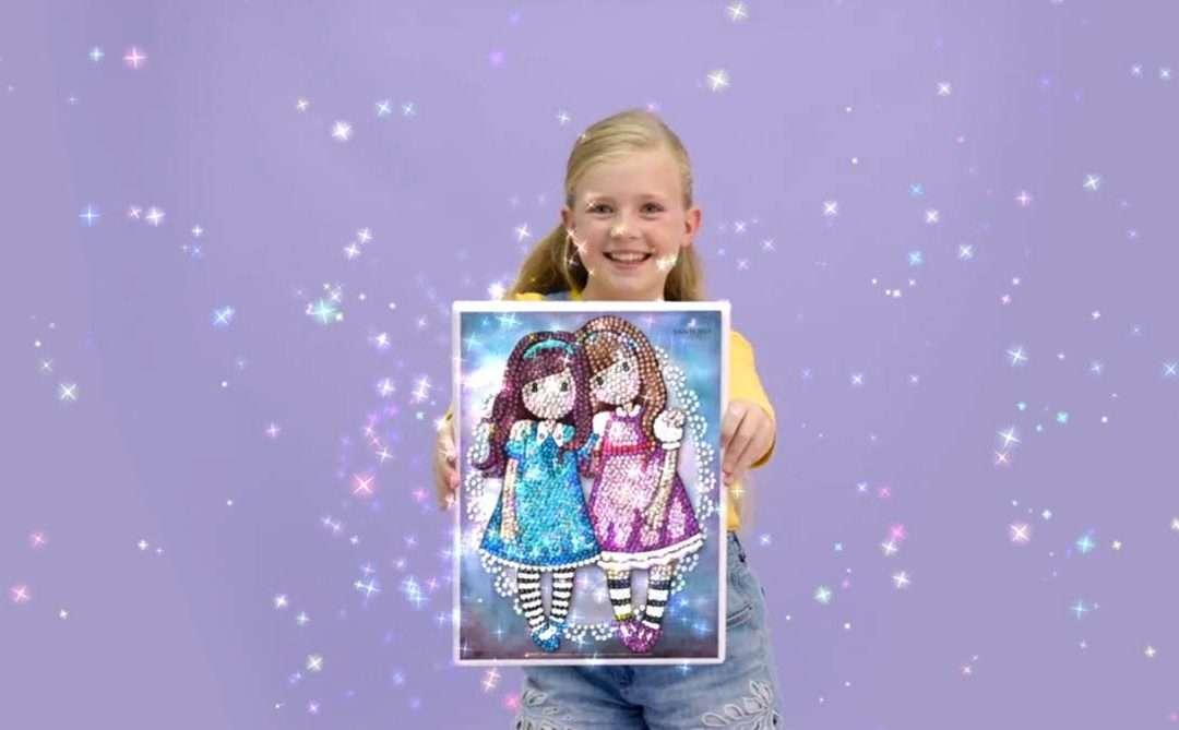 Sequin Art – Sponsors Weekends on Disney Channel