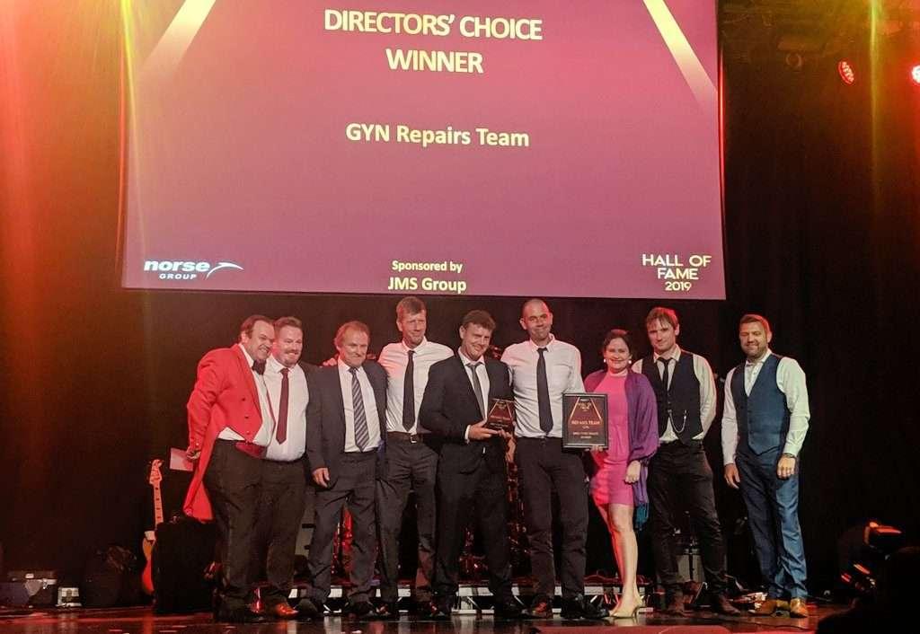 JMS Sponsor Norse Directors' Choice Award