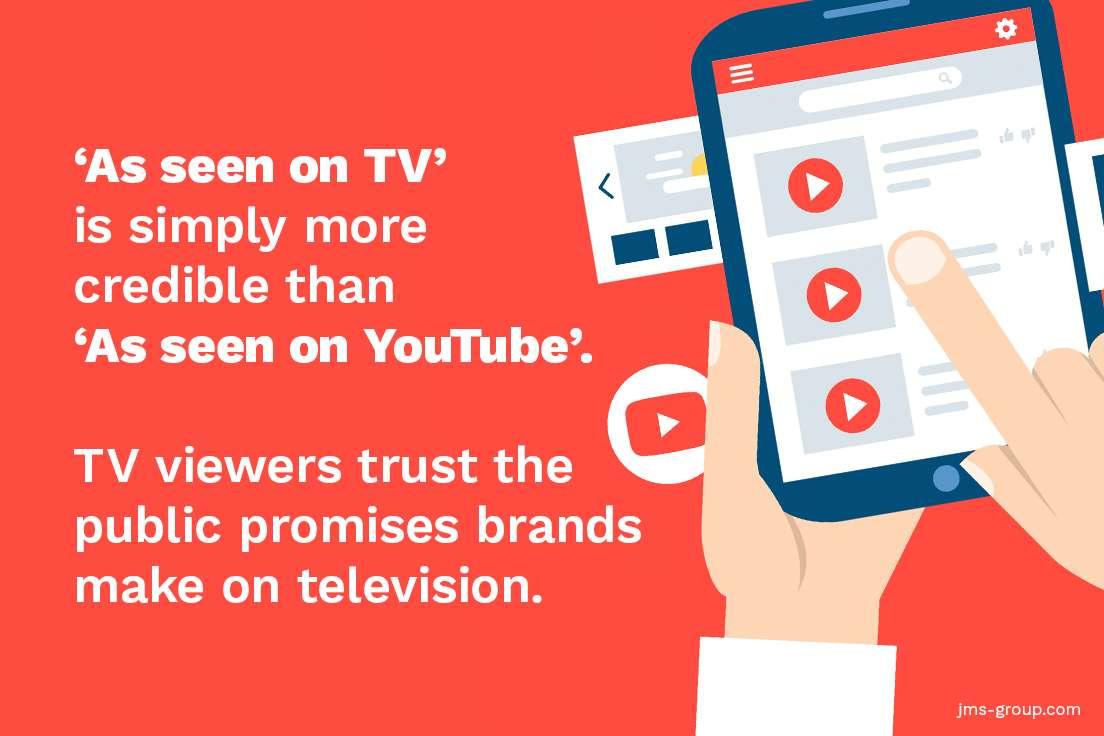 How doea TV advertising work?