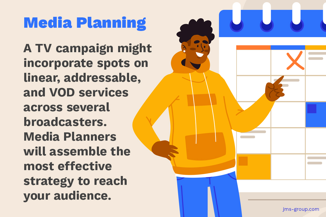 How does TV advertising work: What does a Media Planner do?